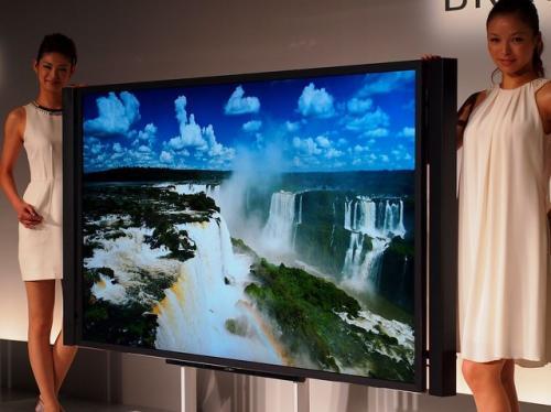 """建议享受电视的新方式!索尼宣布4K自适应液晶电视""""bra via""""是业界最大的84类型"""