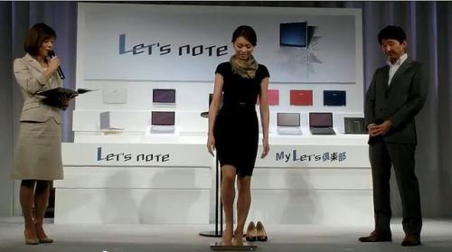 驚きのタフネス! モデルが乗っても壊れない!【動画で見る新型Let′snote AXシリーズ】