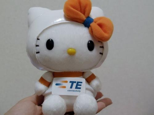 かわいいキティちゃんをゲットできるチャンス! タイコが来場者に宇宙服キティを限定配布【CEATEC JAPAN 2012】