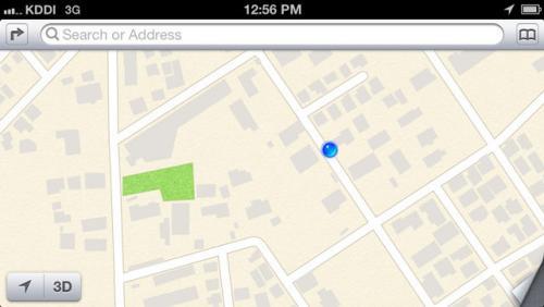 データ修正だけじゃ改善できない! iOS 6の地図アプリは根本的な修正が必要だ【デジ通】