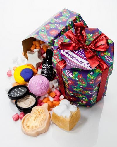 【クリスマスコフレ2012】LUSH 「イブに恋して」(「スターダスト」を2名様にプレゼント)