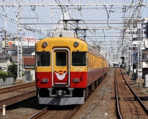 """あの車両のパーツが! 引退した京阪電鉄""""旧3000系""""が「公開解体買付ショー」に登場"""