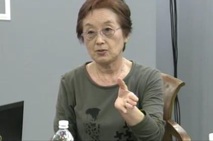 元・放射線医学総合研究所主任研究官の崎山比早子氏