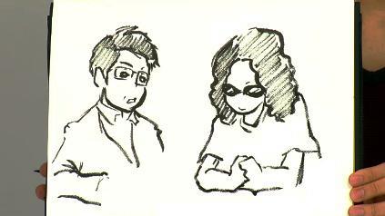 5月病マリオさんが描く吉田照美&みうらじゅん