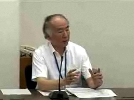 原子力安全委員会の久木田豊委員長代理