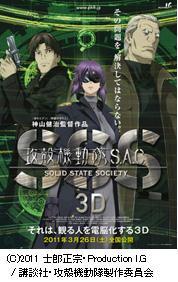 攻殻機動隊S.A.C. SOLID STATE SOCIETY 3D