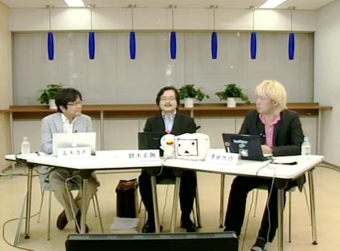 高木浩光氏(左)と鈴木正朝氏(中)、そして司会の津田大介氏(右)