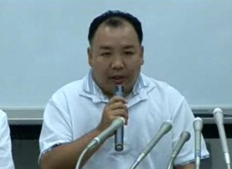 再捜査を訴える「足利・太田連続未解決事件家族会」会長の横山保雄さん