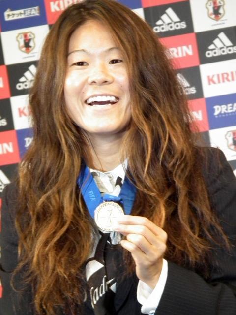 サッカー日本女子代表・主将の澤穂希