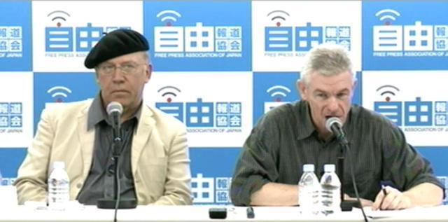 ECRRのクリス・バズビー博士(写真・左)