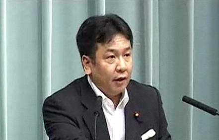 なでしこジャパンに「国民栄誉賞」の検討指示を発表した枝野幸男官房長官