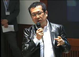 ジャーナリスト佐々木俊尚氏。2011年4月13日の「IT復興円卓会議」では、議論をリードした。