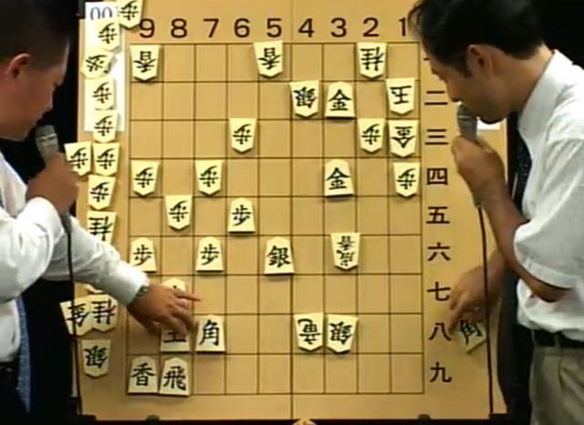 アマトップ棋士の古作登氏(左)と篠田正人氏は合議でコンピュータに挑んだが・・・