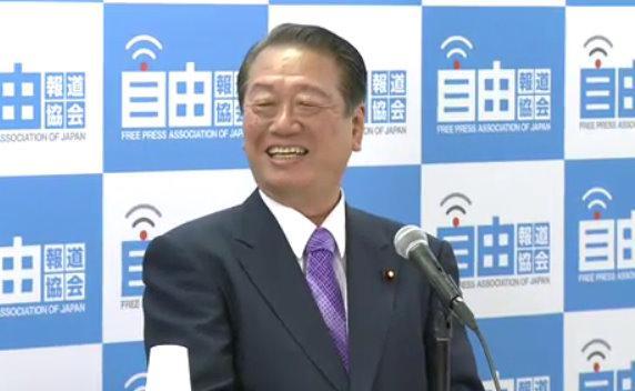 民主党の小沢一郎元代表