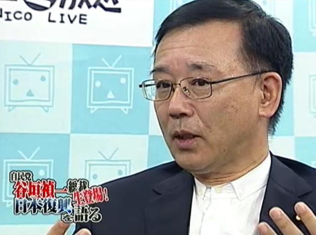 自民党の谷垣禎一総裁