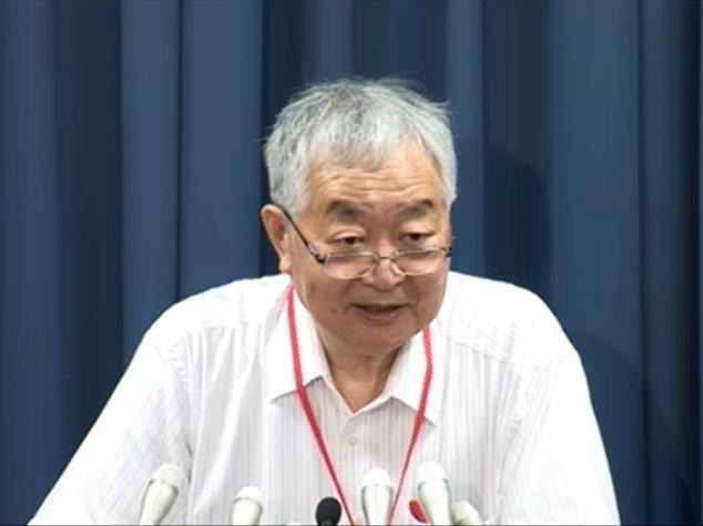 原発事故調査・検証委員会の畑村洋太郎委員長