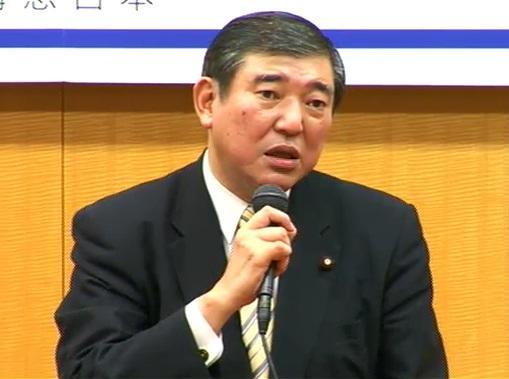 自民党の石破茂政調会長
