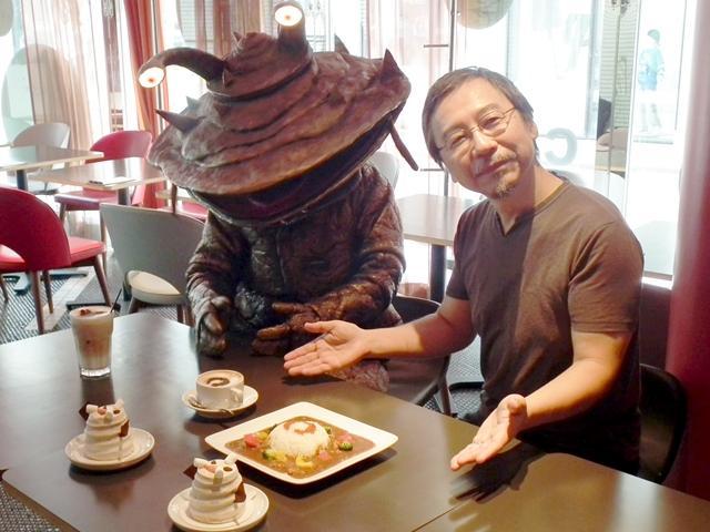怪獣カネゴンと怪獣絵師・開田裕治氏