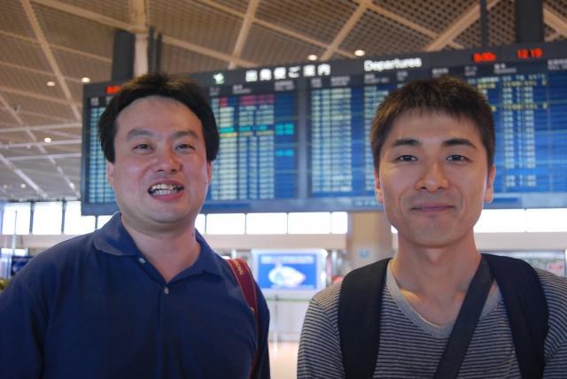 「部長とカメラ」こと、萩原寿夫さんと木川良弘さん