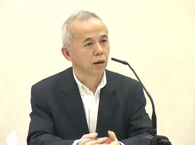 東京電力の廣瀬直己常務取締役