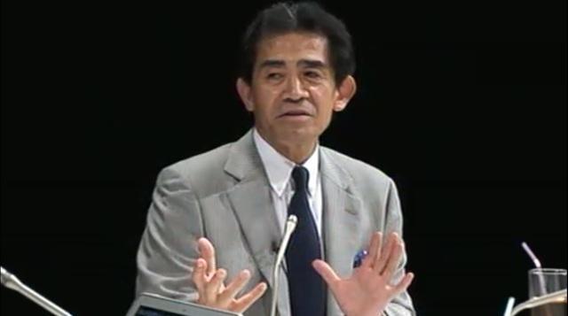松下政経塾1期生・逢沢一郎氏(自民党)
