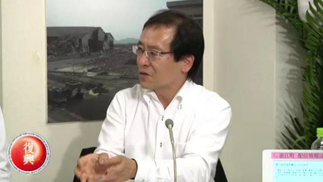 NTT東日本福島支店長・澁谷直樹氏