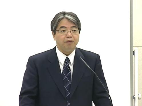 松本純一原子力・立地本部長代理、東京電力記者会見にて