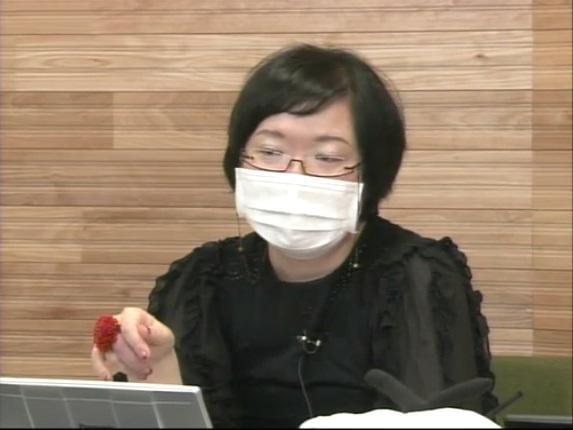 大野更紗氏。免疫不全による感染症予防のためマスクは欠かせない