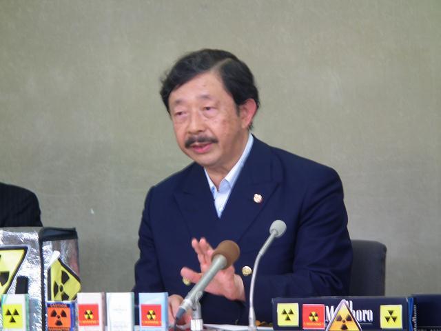 日本禁煙学会の作田学理事長