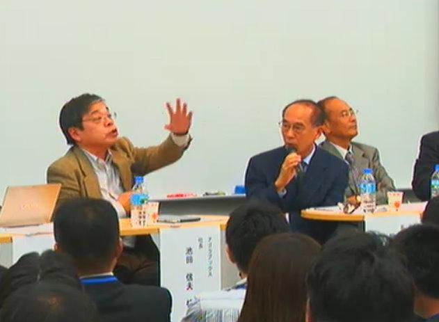 番組中何度も激しい議論をかわした池田信夫氏(左)と服部信司氏