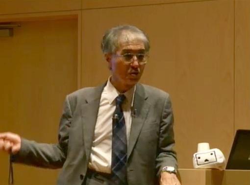 京都大学原子炉実験所の小出裕章助教