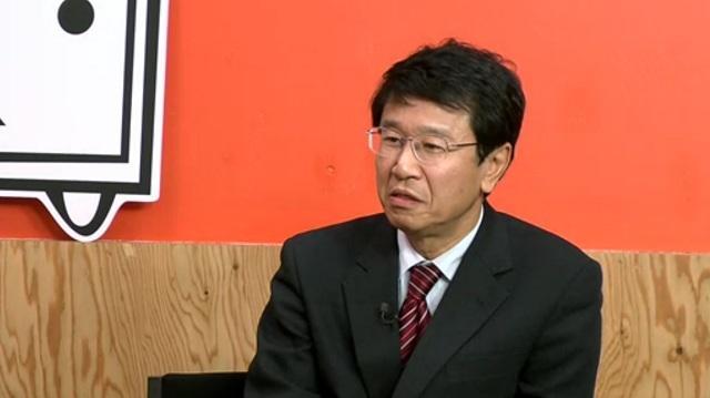 「超伝導直流送電」を研究する山口作太郎教授