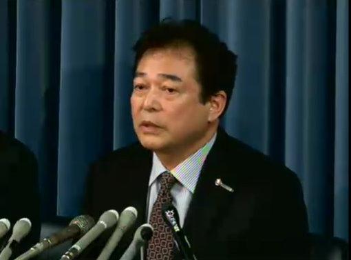 2011年11月11日に行われた告発会見時の清武英利氏