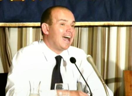 オリンパスのマイケル・ウッドフォード元社長