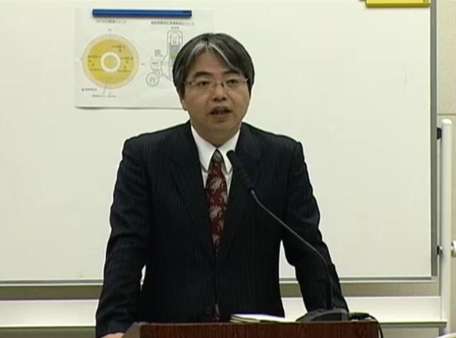 東京電力の松本純一原子力・立地本部長代理