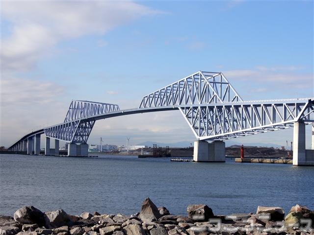 来月12日に開通する「東京ゲートブリッジ」