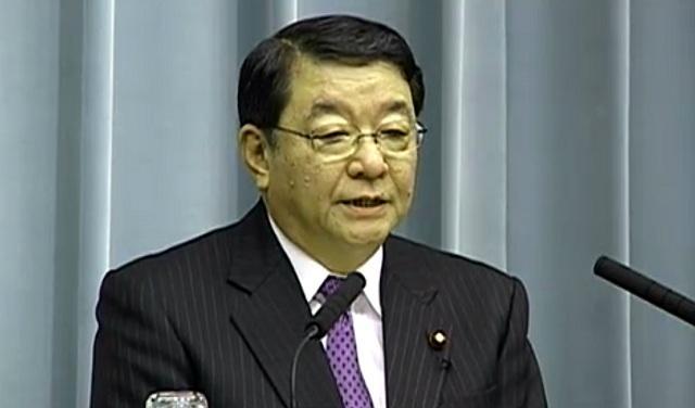 藤村修官房長官(1月12日午後の会見)