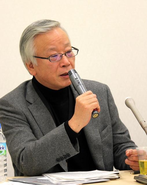 「暴力の質が、警察のいう暴力から変わってきている」と宮崎氏