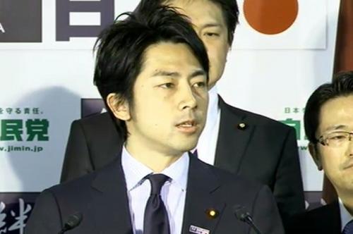 自民党の小泉進次郎青年局長