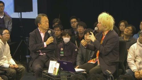 ジャーナリストの池上彰氏とメディア・アクティビストの津田大介氏