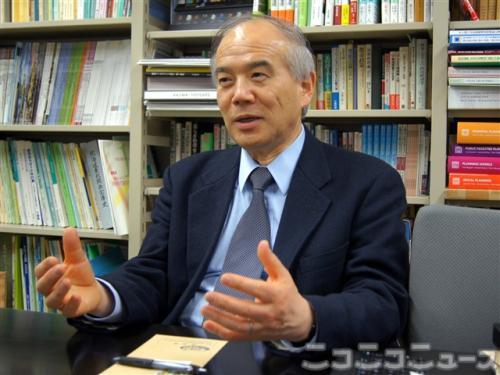東京大学の大西隆教授