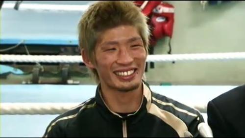 WBC・スーパーフライ級の新チャンピオン・佐藤洋太選手