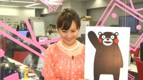 熊本県のマスコットキャラクター「くまモン」©2010 熊本県くまモン