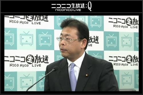 公明党 西田実仁・広報局長