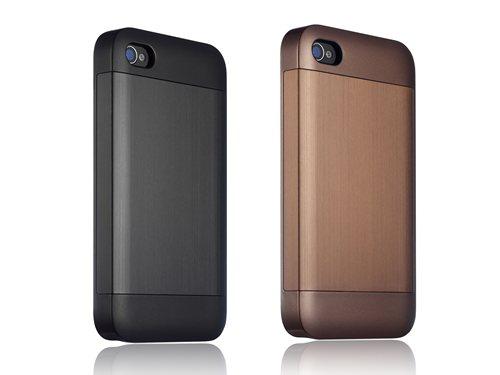 essential TPE irominium for iPhone 4/4S ブラック&ブラウン