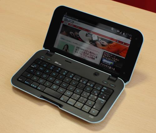 シャープのAndroid搭載スマートフォン『IS01』