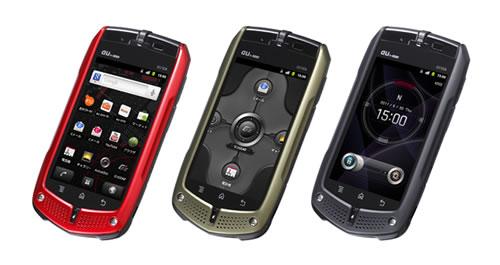 auのAndroidスマートフォン『G'zOne IS11CA』が発売