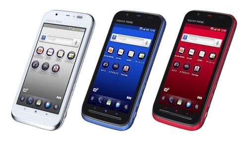 auのAndroidスマートフォン『AQUOS PHONE IS12SH』が発売
