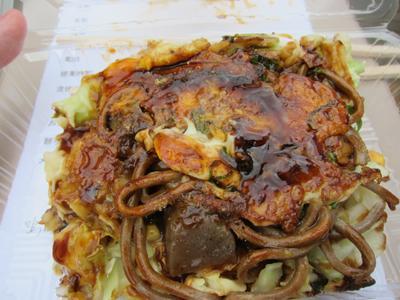 徳島県三好市『みよしB級グルメフェスタ』祖谷そばコンモダンお好み焼き