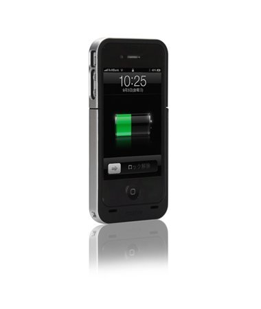 Juice Pack Air for iPhone 4 ブラック